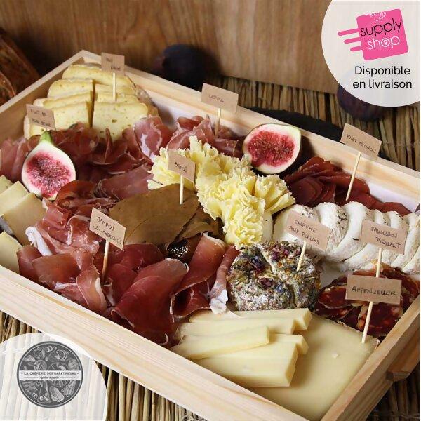plateau fromages crémerie des baratineurs - supplyshop