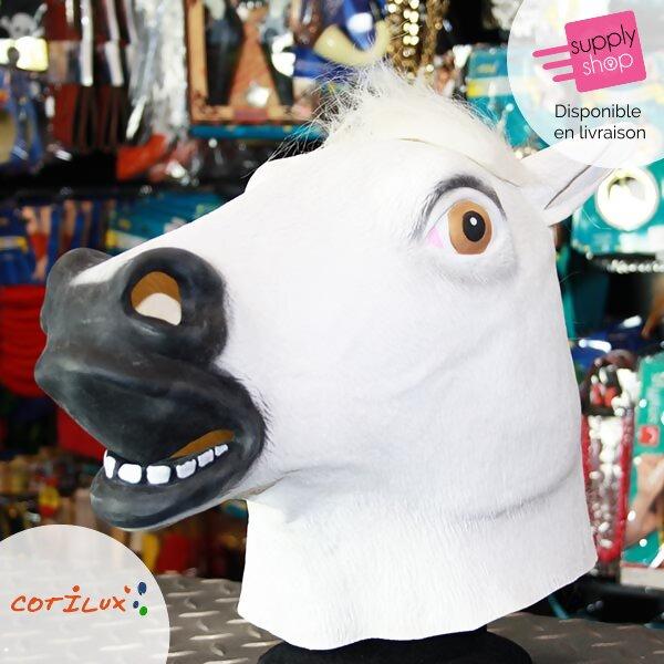 masque cheval blanc cotilux