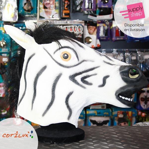 masque zebre cotilux