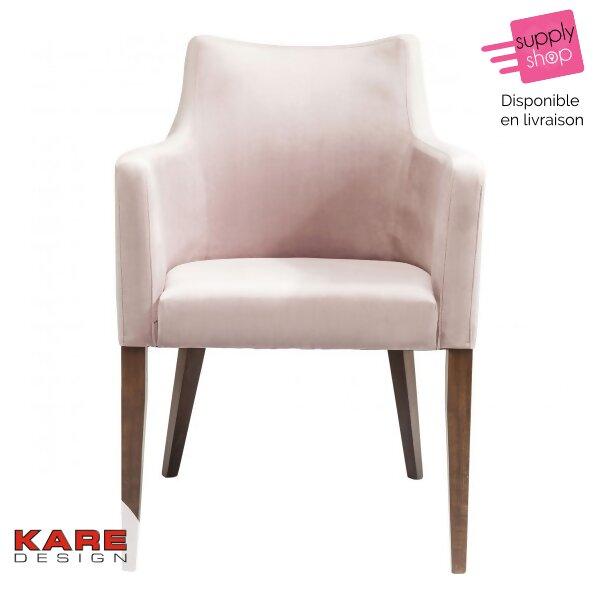 chaise-velvet-rose-kare-design
