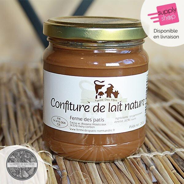 Confiture de lait La Crèmerie des Baratineurs