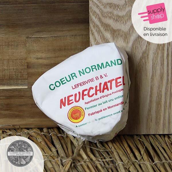 Neufchâtel cœur Normand La Crémerie des Baratineurs