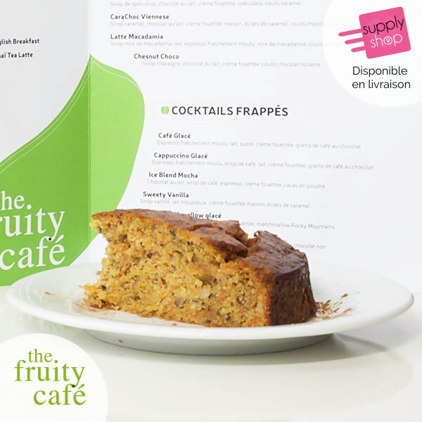 carrot cake the fruity café