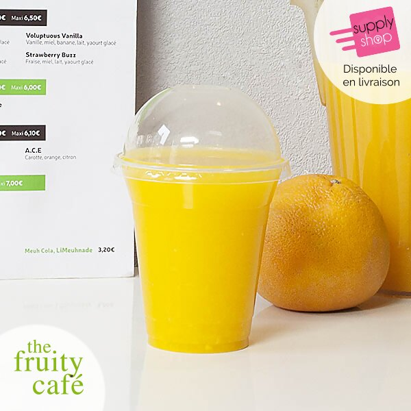 jus d'orange pressé the fruity café
