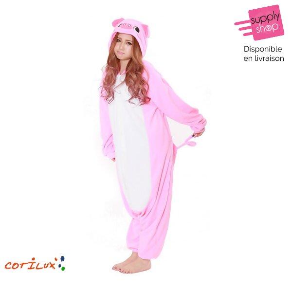 combinaison cochon déguisement
