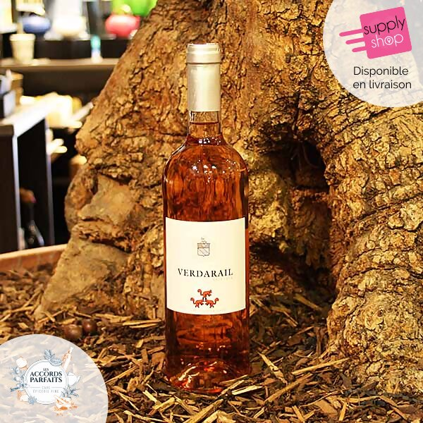 Vin rosé Verdarail Accords Parfaits