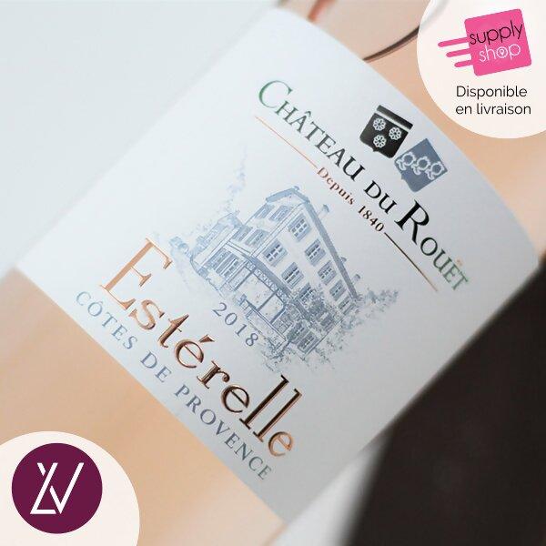 Côtes de Provence AOP Estérelle Château du Rouët Liberge Vins