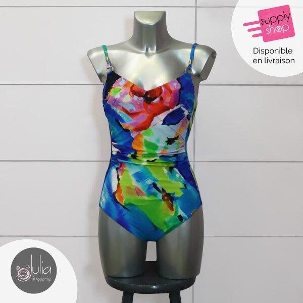 maillot de bain multicolore julia lingerie caen