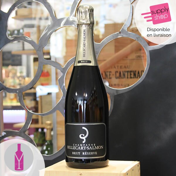 champagne brut billecart-salmon cave et mets caen