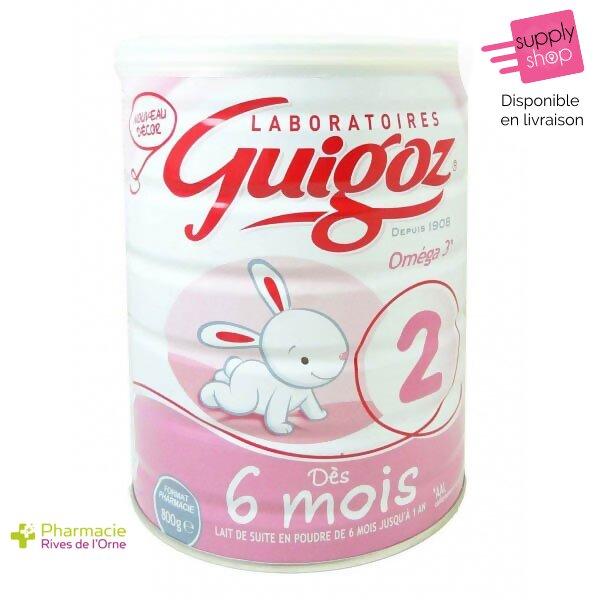 lait 2 guigoz 6 à 12 mois pharmacie de l'orne