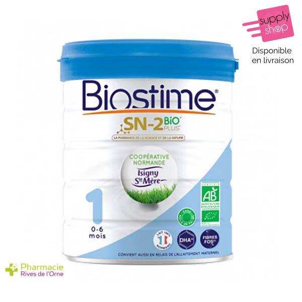 lait biostime sn-2 bio de 0 à 6 mois pharmacie de l'orne