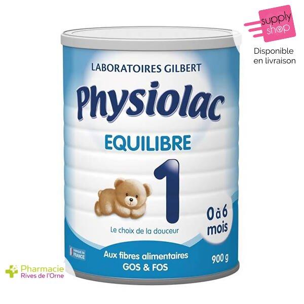 physiolac équilibre lait 1 laboratoire gilbert pharmacie de l'orne