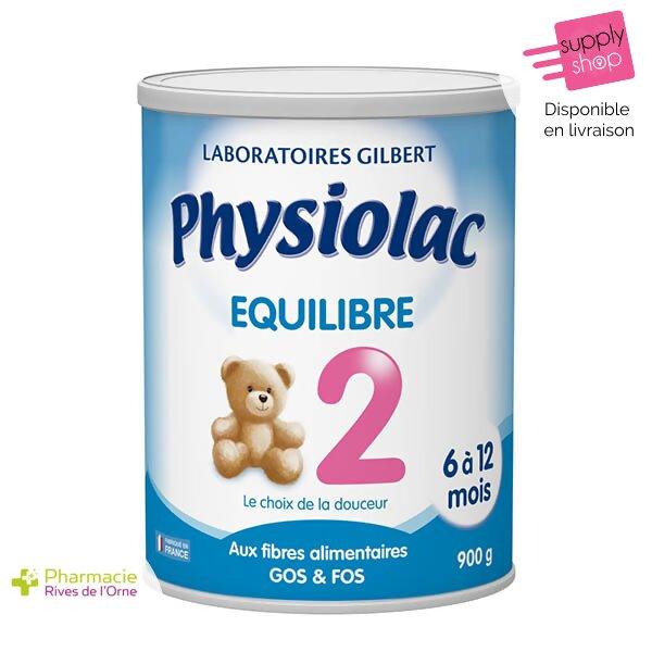 physiolac équilibre lait 2 laboratoire gilbert pharmacie de l'orne