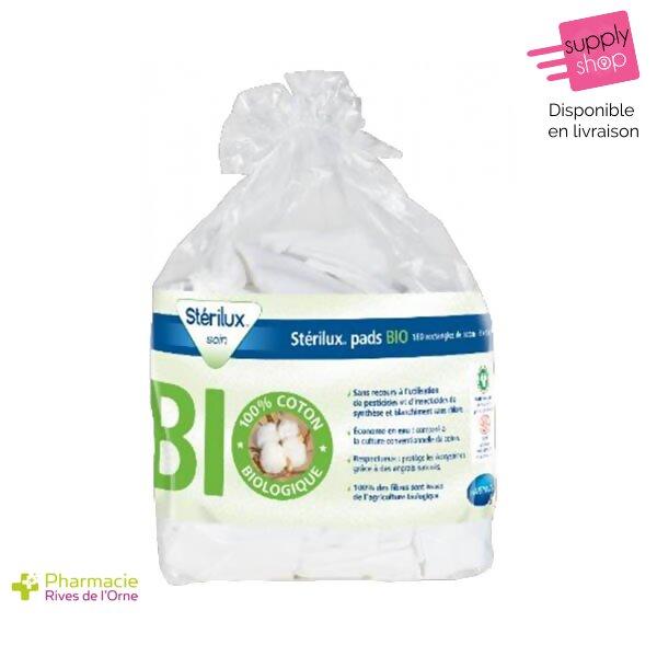 stérilux coton bio pharmacie de l'orne