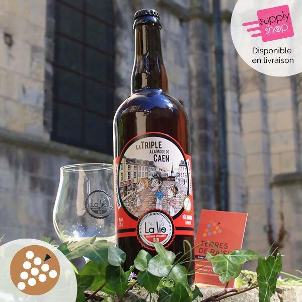 bière la lie la triple à la mode de Caen la lie caviste terres de raisin 1