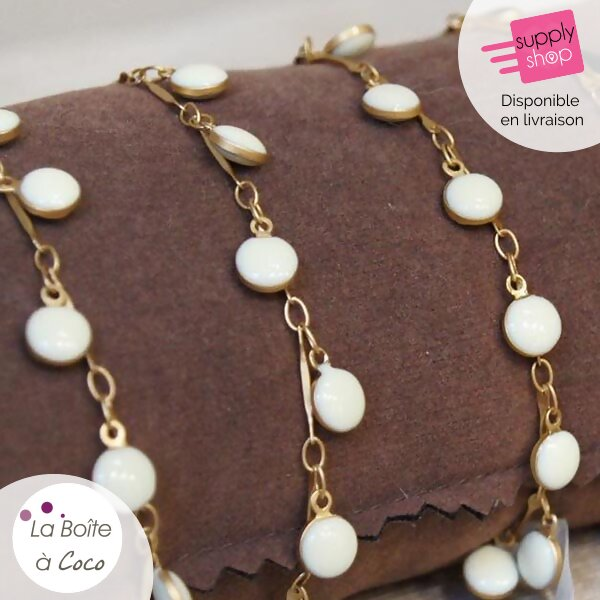 bracelet blanc la boite à coco caen 1