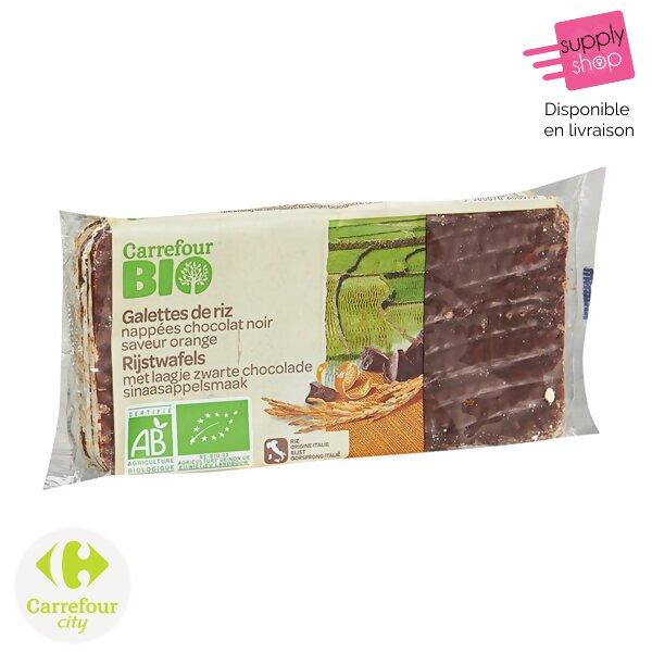 galette de riz chocolat bio carrefour city
