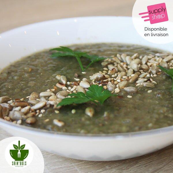 soupe du jour restaurant vegan caen