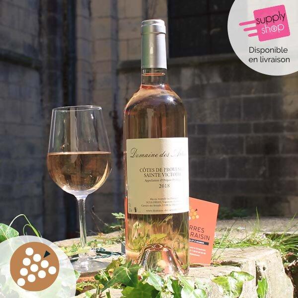 vin rosé côtes de provence sainte victoire caviste terres de raisin