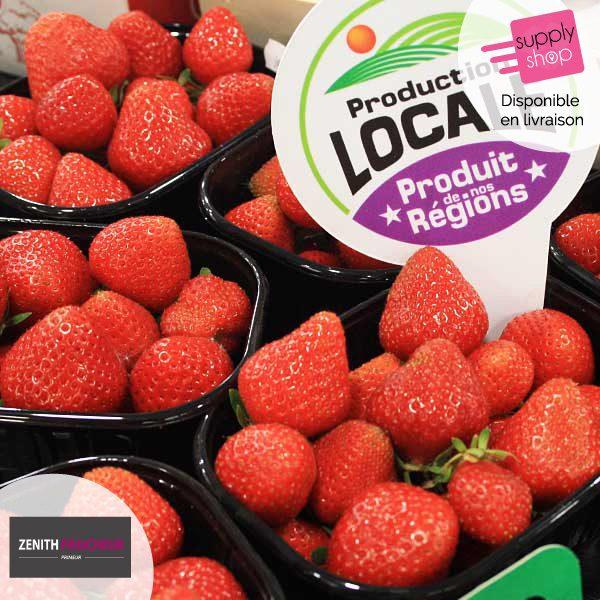 zenith fraicheur caen fraises