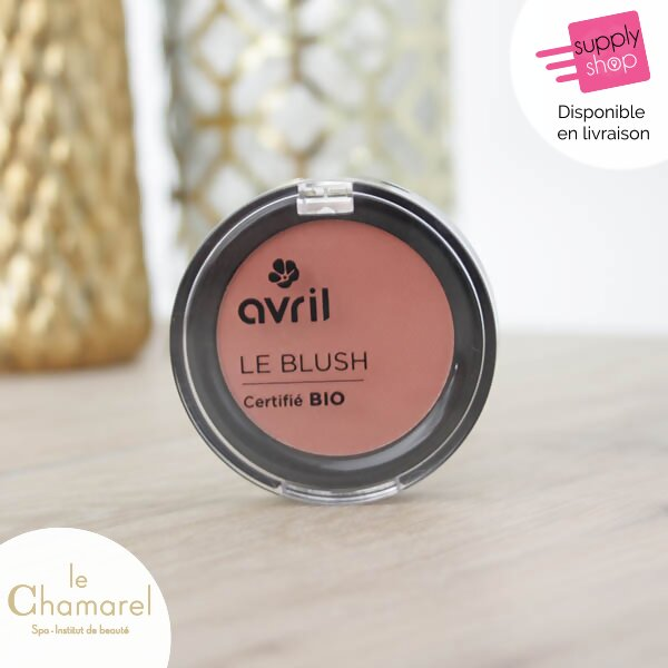 blush rose éclat bio avril le chamarel spa