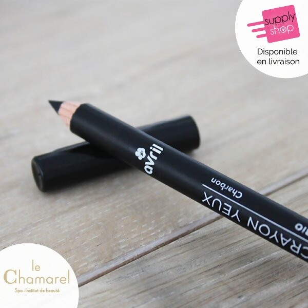 crayon pour les yeux noir bio avril le chamarel spa