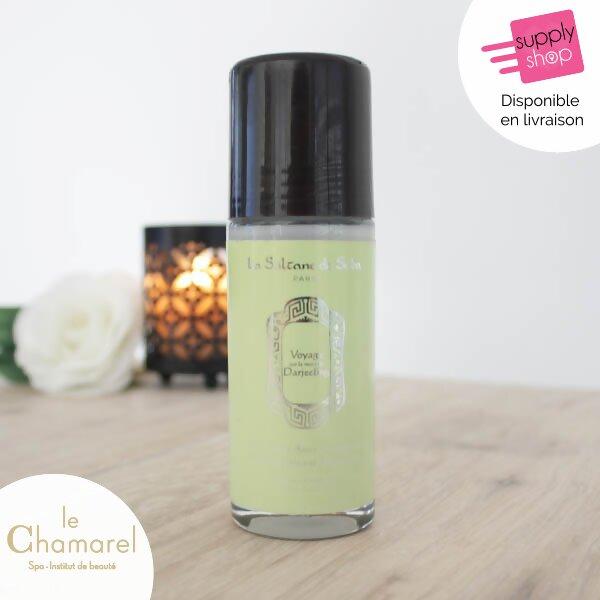 déodorant thé vert gingembre la sultane de saba le chamarel spa