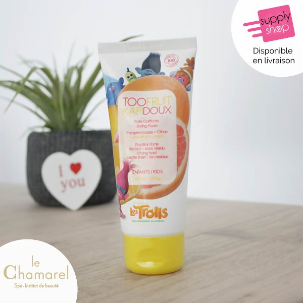 pâte coiffante pamplemousse et citron too fruit le chamarel spa 2