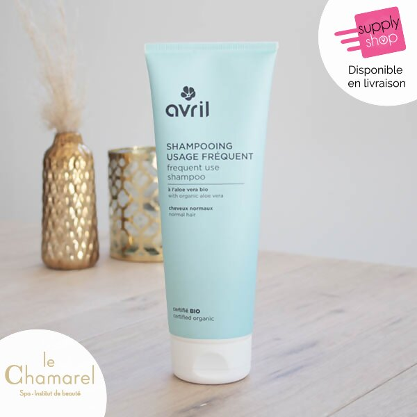 shampooing usage fréquent bio avril le chamarel spa