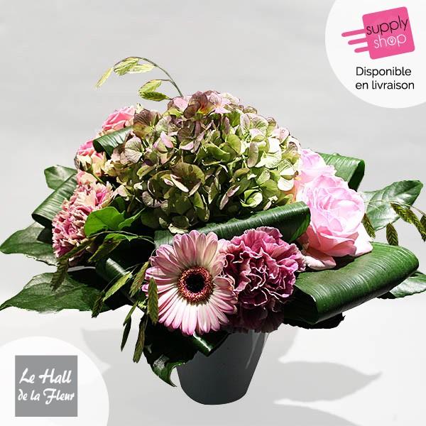 bouquet de fleurs caen hall de la fleur