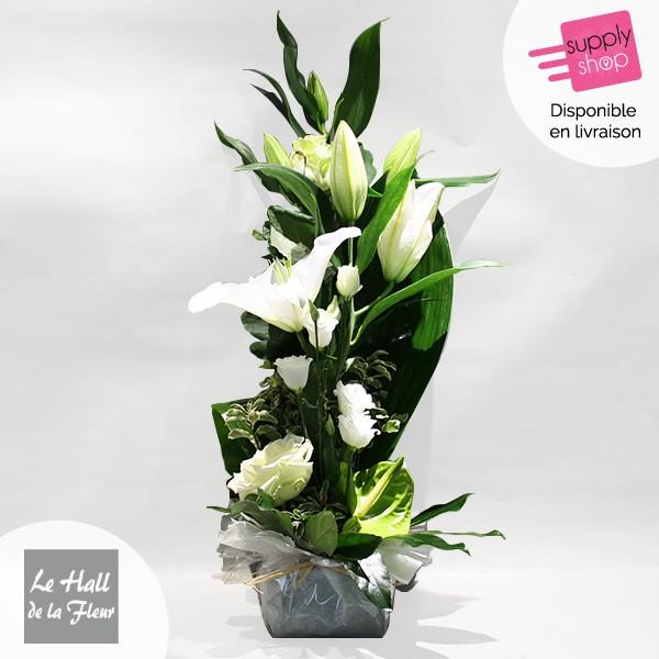 composition hauteur hall de la fleur