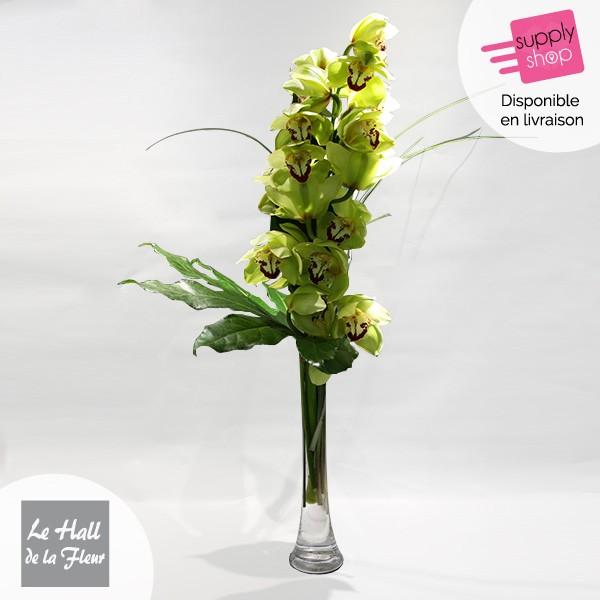 orchidée hall de la fleur caen