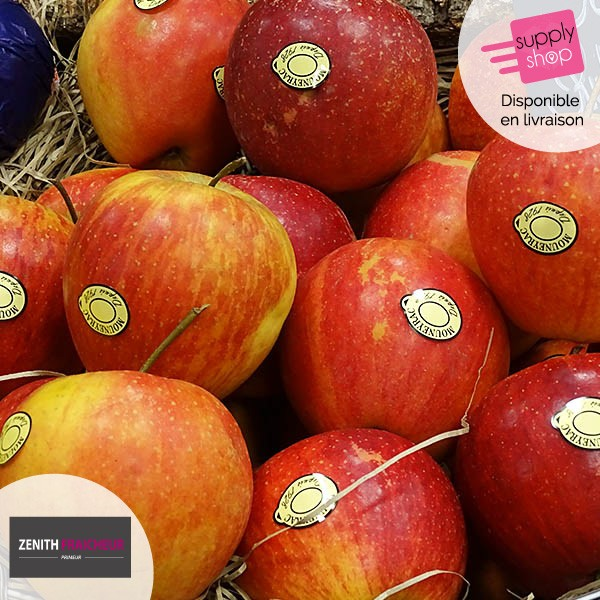 Pommes rubinette Zénith Fraîcheur