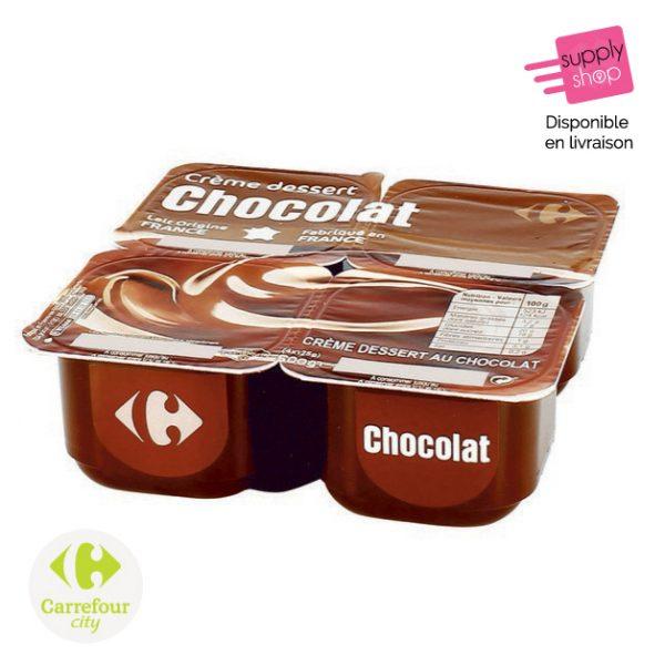 Crème dessert chocolat Carrefour City