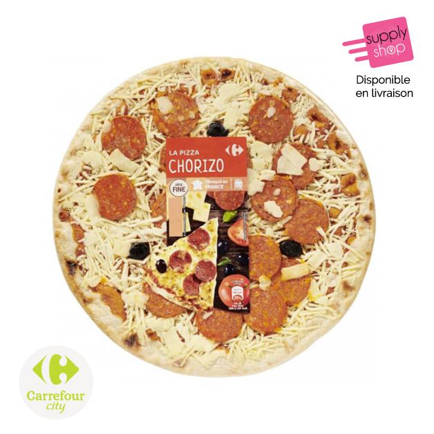 Pizza Chorizo Carrefour City Supplyshop