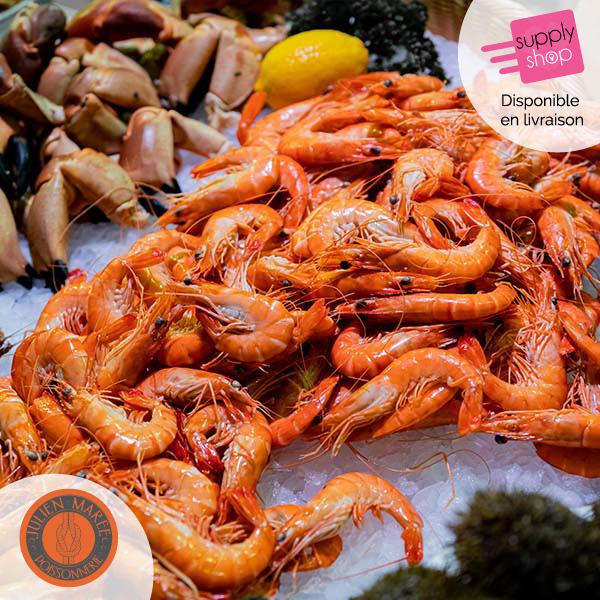 Crevettes sauvages Julien Marée