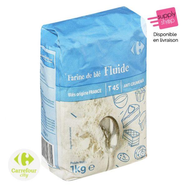 Farine de blé T45 Carrefour City