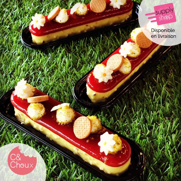 fraisier-eclair-c-choux