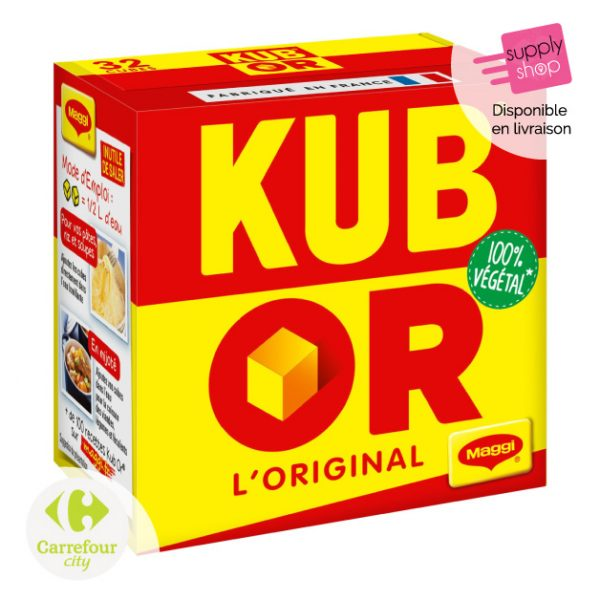 Bouillon en cubes KUB OR