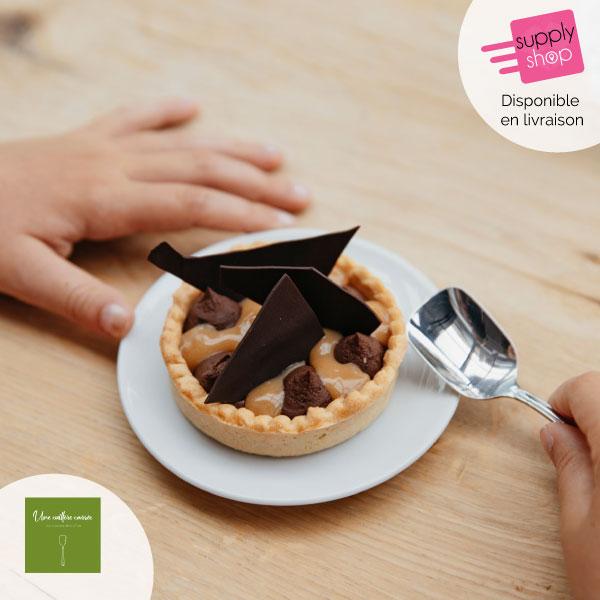 Menu Plat + Dessert Une cuillère carrée