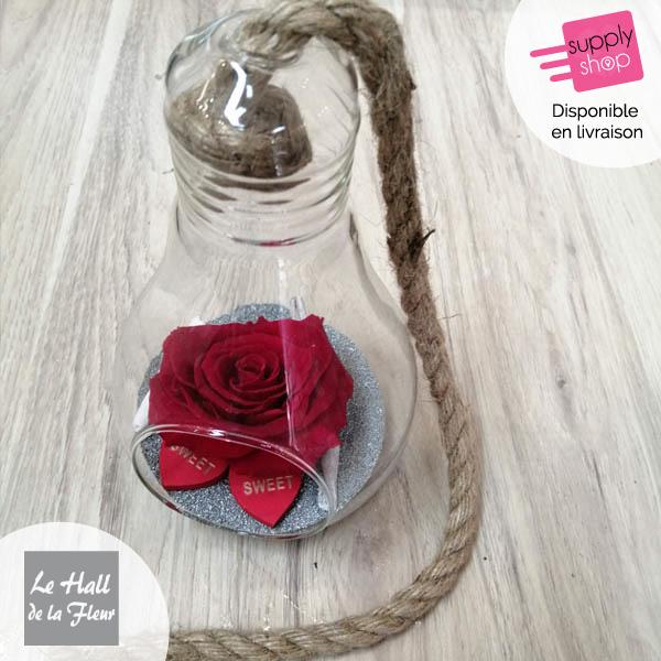 rose éternelle ampoule