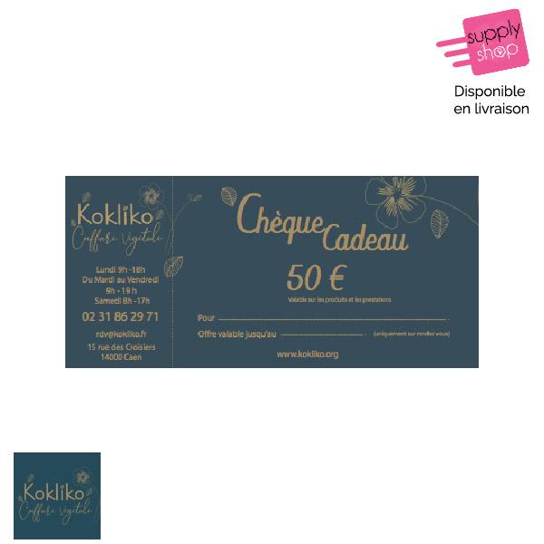 Chèque Cadeau 50€ Kokliko