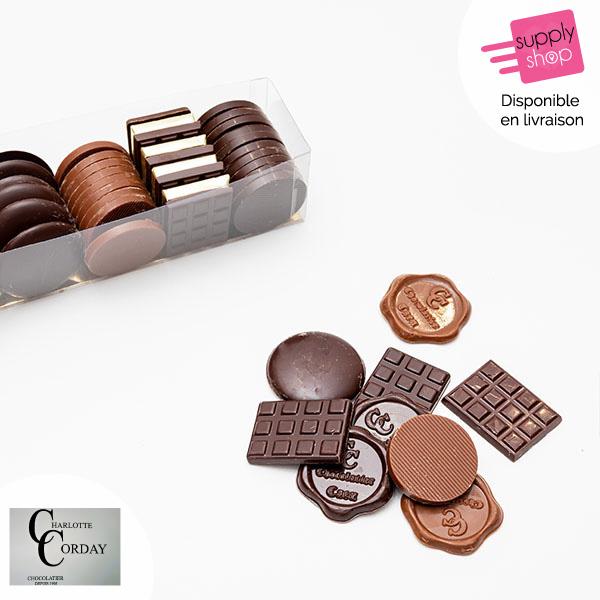 Pastilles en chocolat