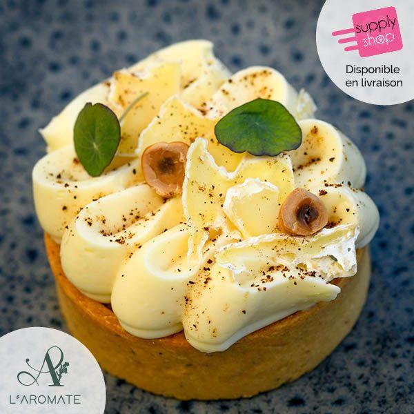 Tartelette Pomme-Camembert L'aromate