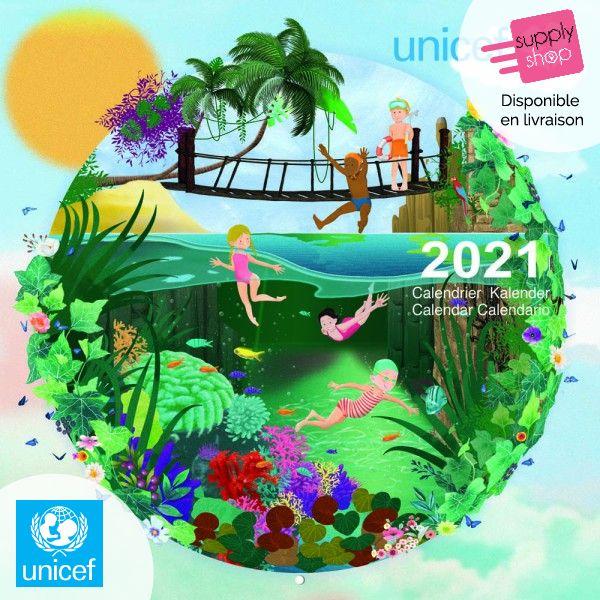 Calendrier 2021 Pour les enfants du monde Unicef   Supplyshop