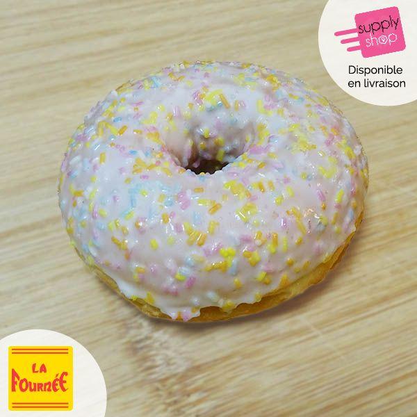 Donut's glaçage vanille La fournée