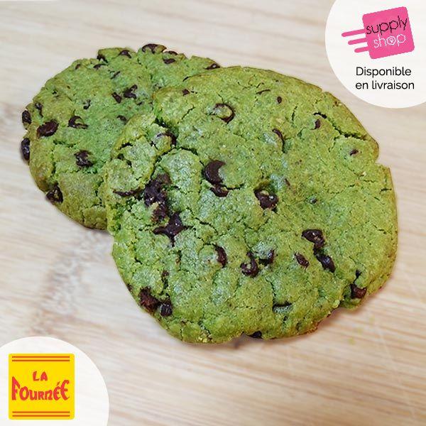 Cookie pistache chocolat La fournée
