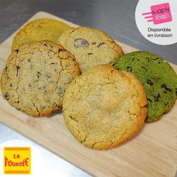 Lot de 5 cookies La fournée
