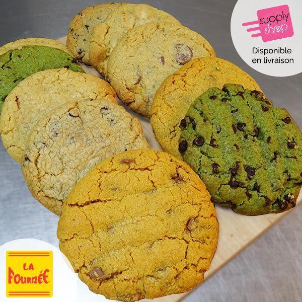 Lot de 10 cookies La fournée
