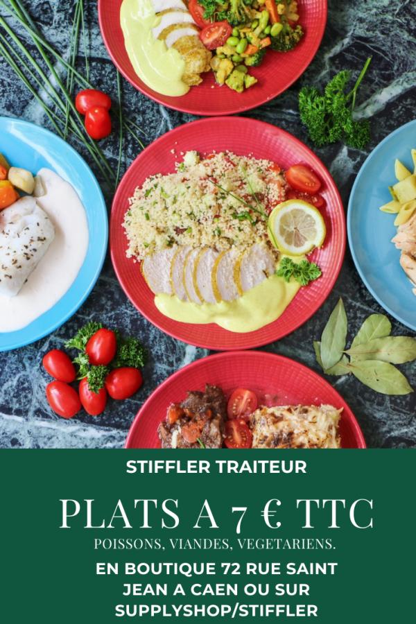 Plat du jour : Blanquette de veau, oignons grelots et riz aux amandes Stiffler
